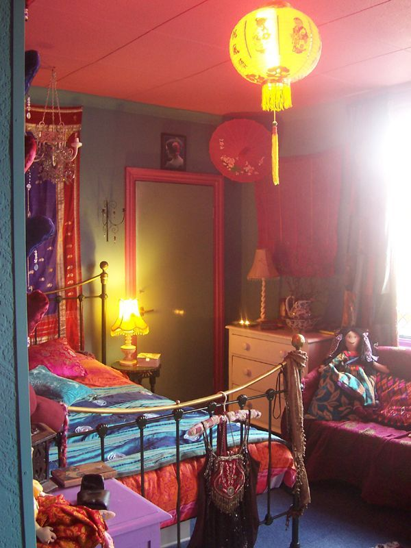 Bohemian Hippie Room So Colorful And Fun Bedroom