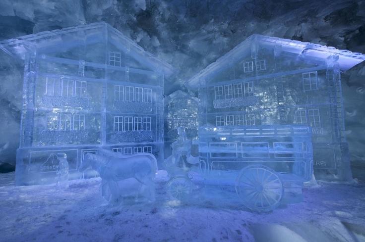 Matterhorn glacier paradise - glacier palace