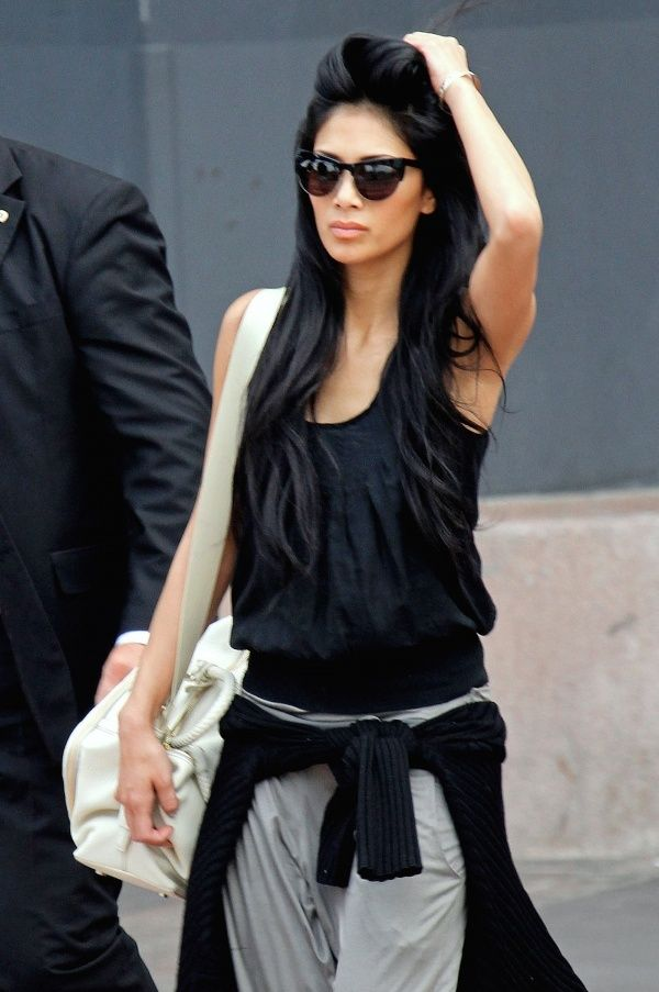 Nicole Scherzinger's hair is seriously percfection!!!