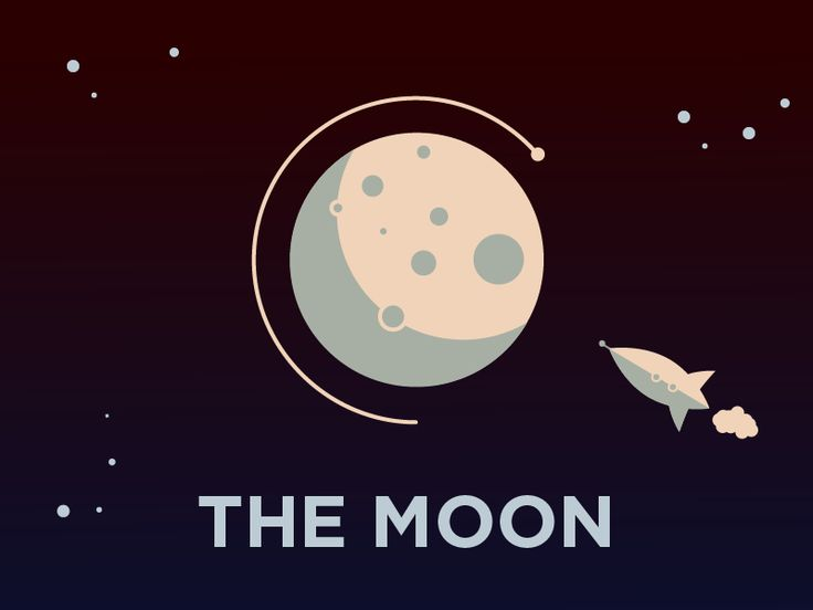 Moon Illustration Texting What Would And Sheds