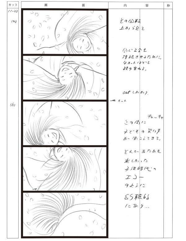 かぐや姫の物語- 絵コンテ全集 | Kaguyahime no Monogatari storyboard by Studio Ghibli