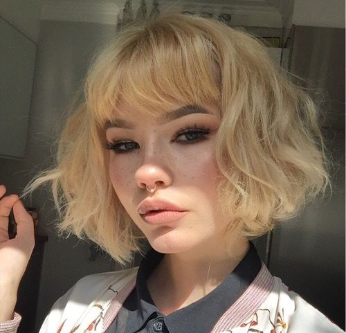 Stupendous 1000 Ideas About Bangs Short Hair On Pinterest Round Face Bangs Short Hairstyles Gunalazisus