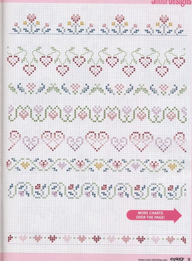 borders #cross stitch