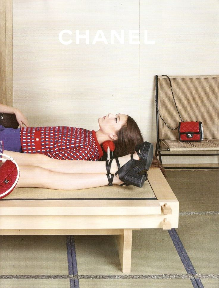 Yumi Lambert by Karl Lagerfeld for Chanel S/S 2013