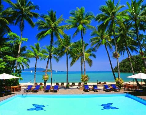 Dunk Island, Australia.  Absolutely had a blast at the resort.  But, not in the pool!