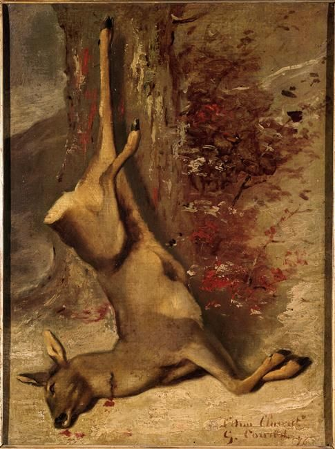 The Deer - Gustave Courbet