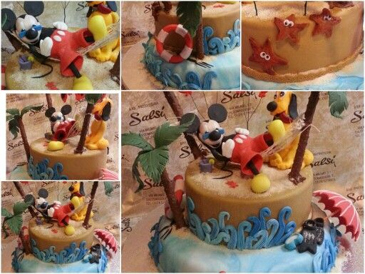 Particolare della torta pasticceria salsi