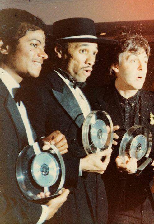 Michael Jackson, Kid Creole & Paul McCartney