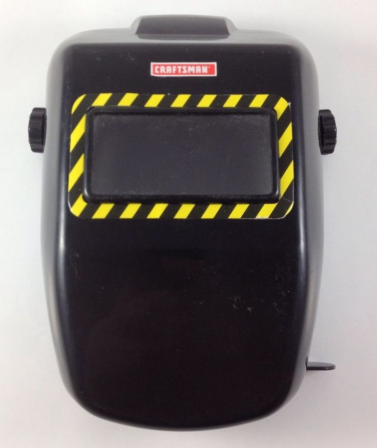 "Craftsman Kids Toy Welding Helmet Mask 9"" Children Size Welder Mechanics Costume #Craftsman"