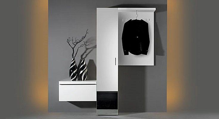 Много Мебели: Белая Прихожая