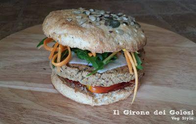 Burger di Cannellini e Peperoni Vegan