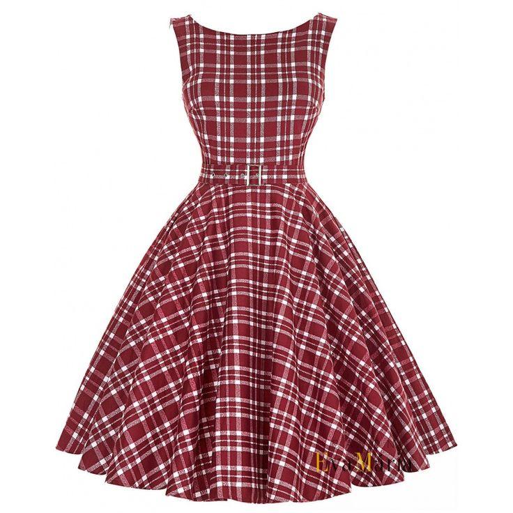 Spoločenské retro šaty