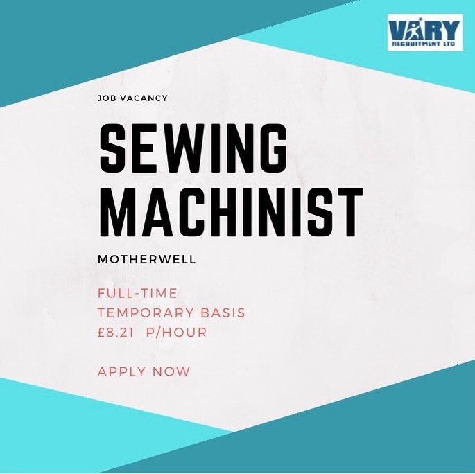 Sewing Jobs Near Me
