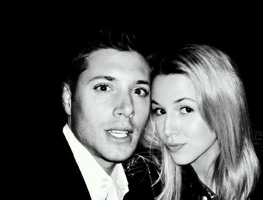 "Jensen Ackles and Alona Tal, Dean and Jo, on ""Supernatural"""