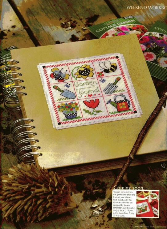 17 Best images about Cross stitch journals on Pinterest