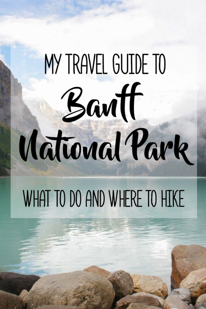 My Travel Guide to Alberta's Banff National Park: What To Do and Where to Hike