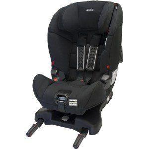Axkid Kidzofix, silla isofix a contramarcha para coche Grupo 1-2 color negro