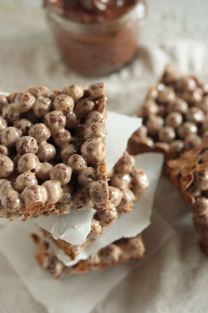 Nutella Cocoa Krispie Treats - Country Cleaver
