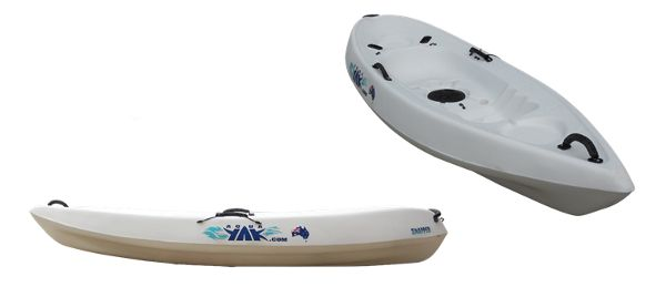 SNAPPER - Our 'entry level model' the Snapper comes with all the versatility of the Snapper Pro but within a budget price, making it ideal for Caravan Park or resort hires. Light weight, extremely stable, easy to paddle and available in a wide range of 9 colours, the Snapper is the perfect gift for the kids and like all AquaYaks, the Snapper's rugged, one-piece construction and internal strengthening guarantees many years of trouble free service.