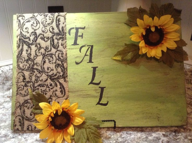Use this concept to decorate the office door or office bulletin board with big paper sunflowers or sunflowers from Hobby Lobby.