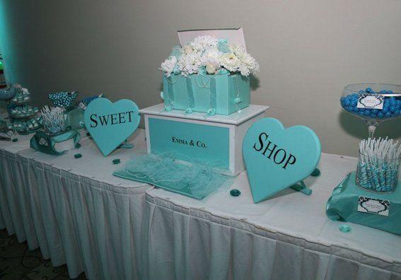 Tiffany Blue Sweet Sixteen Decorations