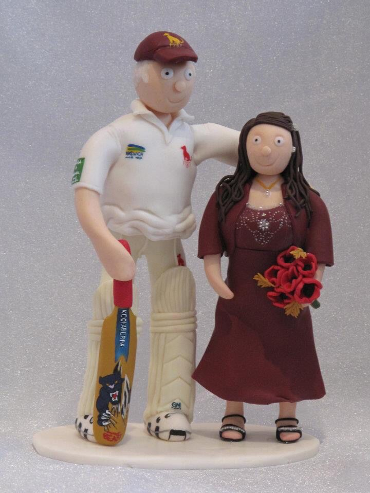 Wedding cake topper-Commissioned piece