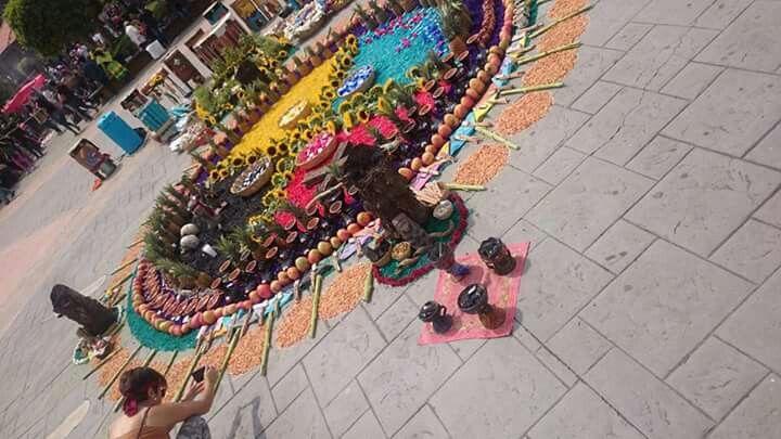 Ofrenda prehispanica