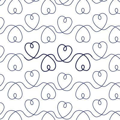 Free Heart Quilting Stencils : 589 best images about Quilting motifs on Pinterest Quilt designs, Quilt and Machine quilting
