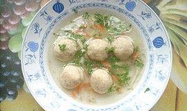 Morkové knedlíčky do polévky