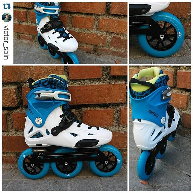 One hell of a custom! @powerslidebrand imperial, pleasure tool frames, @myfit_liners FATBOY liners and 3x110mm @undercoverwheels #Repost @victor_spin with @repostapp. ・・・ Mi nuevo Set Up de #triblade. para callejear en 2016#welovetoskate  @powerslidebrand @3x3wheels @welovetoskate.es @myfit_liners @undercoverwheels #3x3wheels #triskate #freeskate #inlineskate #patines #skateporn #3x110 #3wheels #supercruiser #powerslide #myfitliner #ucwheels