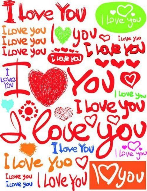 162 best I LOVE YOU images on Pinterest | I love you, Love you and ...