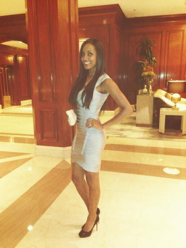 Brandi Reed (WWE NXT Diva Eden) heading to her bachelorette party just a few days before her September 2013 wedding to Cody Runnels (Cody Rhodes).