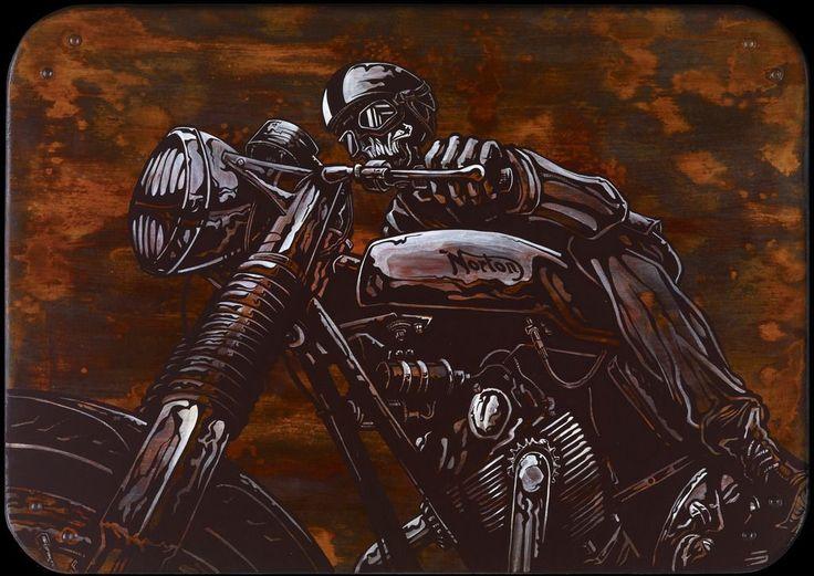 Cafe Racer on www.davidlozeau.com