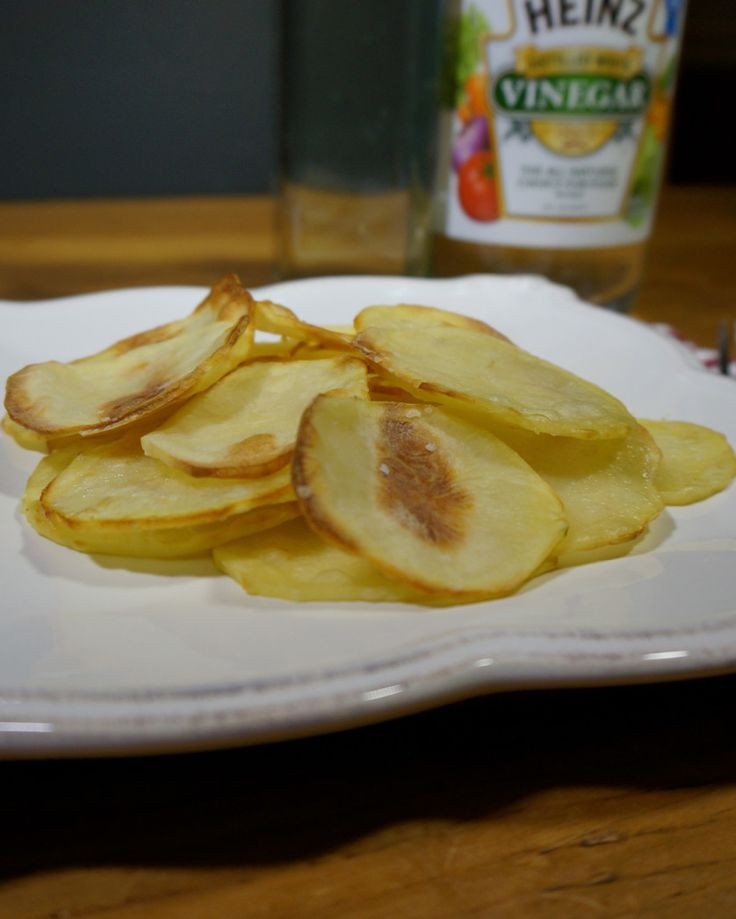 Fat Free Potato Chips #weightwatchers #startsimple www.ornabakes.com