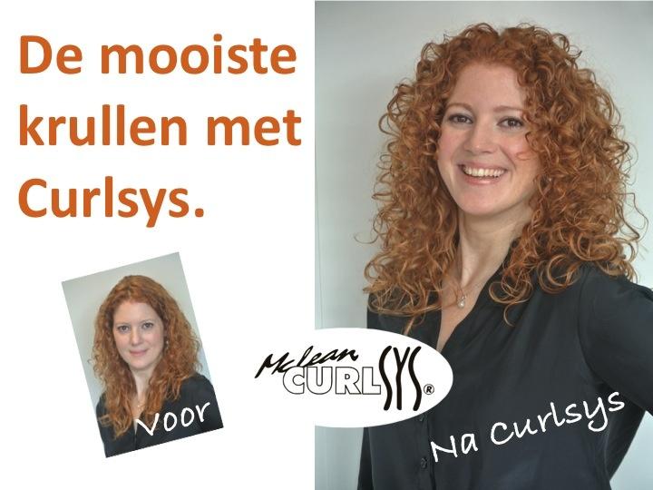 De mooiste krullen knippen we in je haar. Door alle lagen van je haar met de wereldberoemde Curlsys techniek te knippen krijg je meer volume of meer krul zonder pluis.