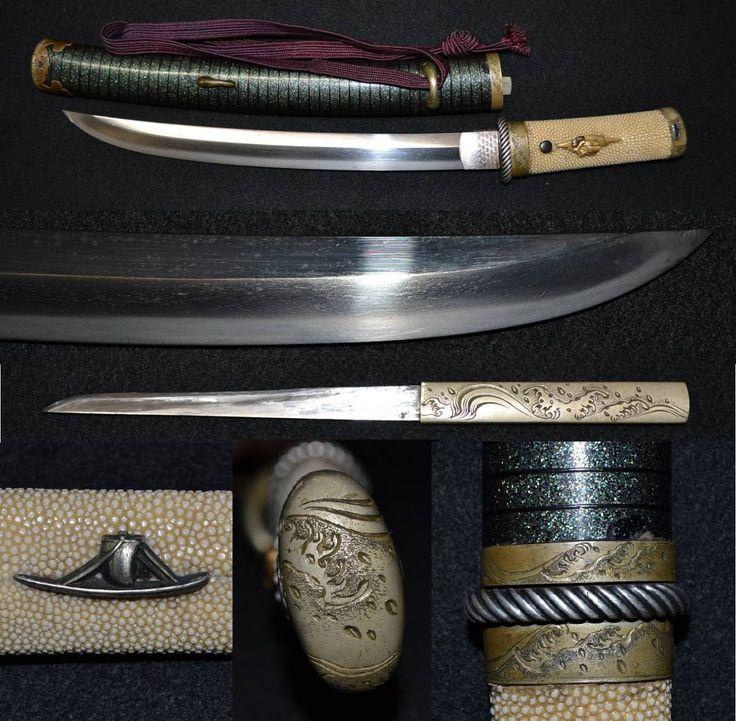 Első nyilvános kiadás! Csapda kardok lehetetlen gyönyörű luxus lendkerék vállpántok és kisebb petite stb Dühös rajz, irracionális és dühös alak egységes csodálatos rövid kard! _ 1 kép