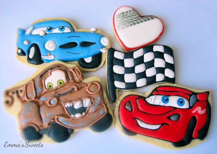 Disney's Cars Characters by Emma's Sweets | Cookie Connection