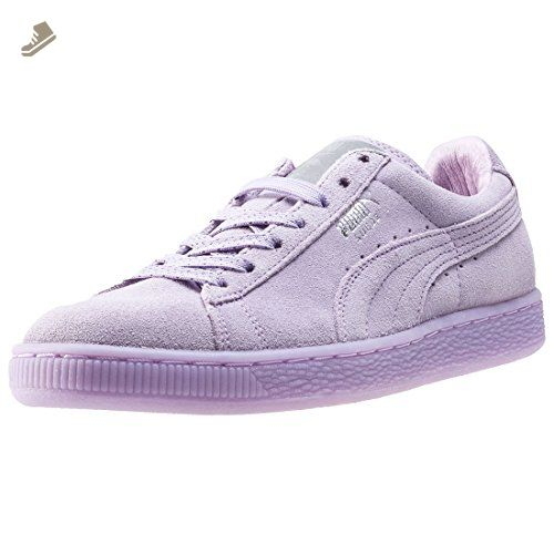 Puma Suede Classic Mono Ref Iced Womens Trainers Lilac - 8 UK - Puma  sneakers for