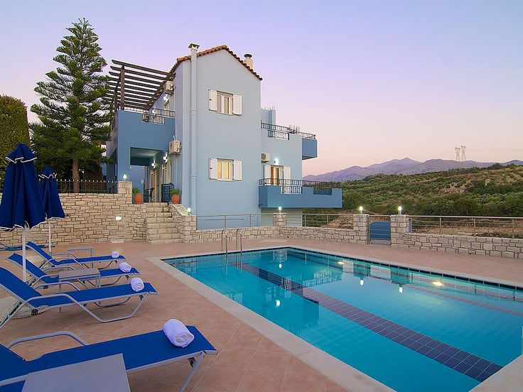 Rethymno villa rental - Amazing private pool and terrace!