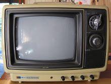 Televisor antiguo B/N