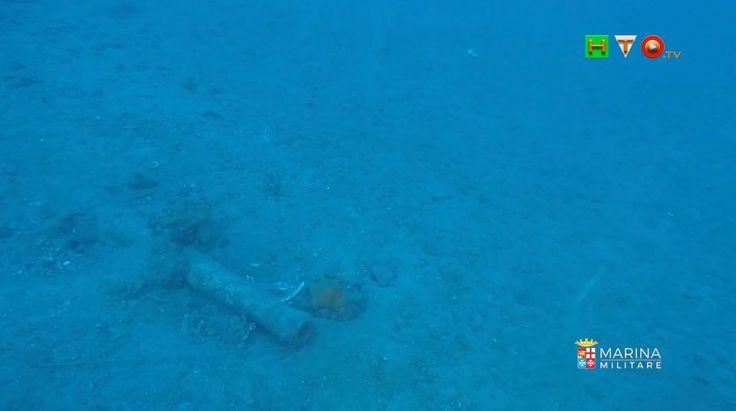 MARINA MILITARE: Nave Anteo e palombari Comsubin ispezionano relitto del...