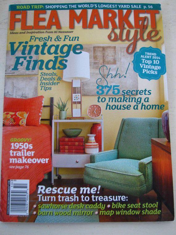78 best flea market style magazine images on Pinterest | Flea market ...