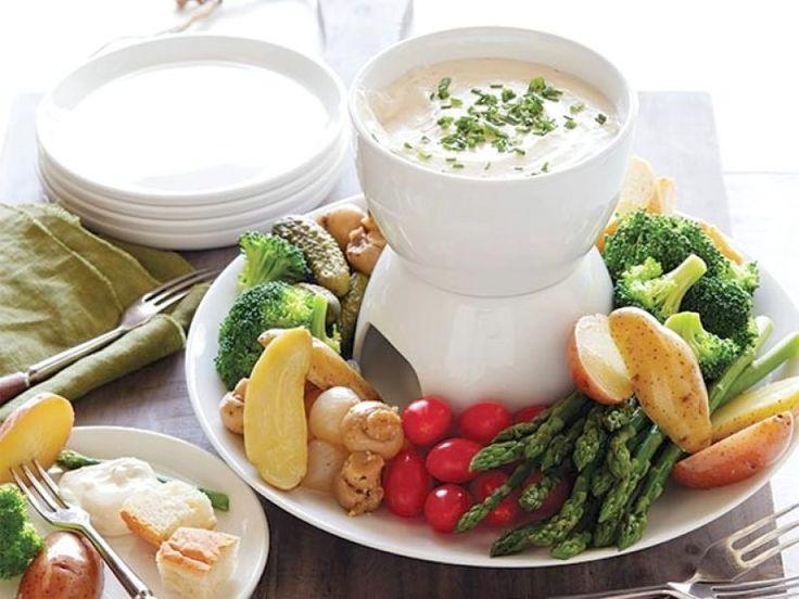 die besten 25 k sefondue beilagen ideen auf pinterest essen ideen vegetarische vorspeise. Black Bedroom Furniture Sets. Home Design Ideas