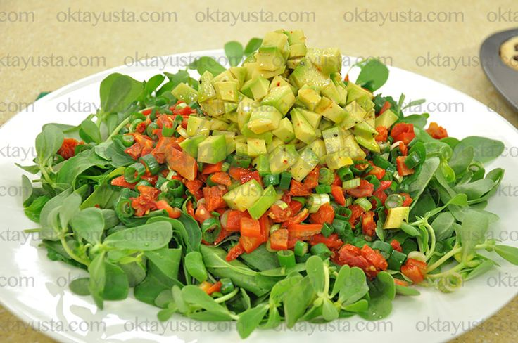 Avakadolu Bahçe Salatası