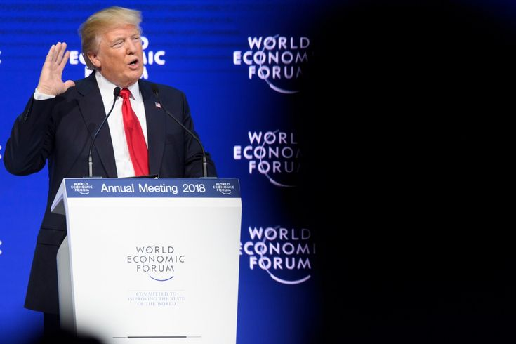"""Trump: US """"open for business,"""" and economists mostly agree - The Washington Post      Business Trump: US """"open for business,"""" and economists mostly agree U.S. President Donald Trump addresses a plenary session in the Congress Hall the last day of the annual meeting of the World Economic Forum, WEF, in Davos, Switzerland, Friday, Jan. 26, 2018…"""