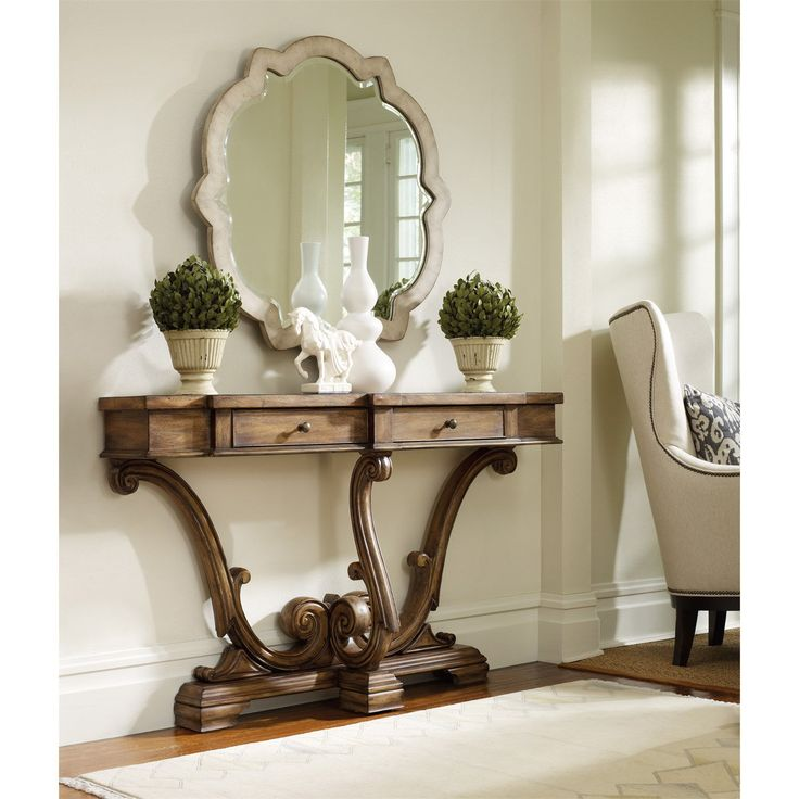 Hooker Furniture 3022-85001 Sanctuary Thin Console in Amber Sand