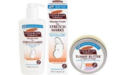 This June sees the launch of a new and improved Stretch Mark range from Palmer's Cocoa Butter. The formula now contains a trademarked Bio C-Elaste complex, which has been designed to increase skin's elasticity and moisture levels. The range consists of Massage Lotion for Stretch Marks, Tummy Butter for Stretch Marks, Massage Cream for Stretch Marks; the full collection can be purchased from Boots, Superdrug, Tesco, ASDA and www.chemistdirect.com.