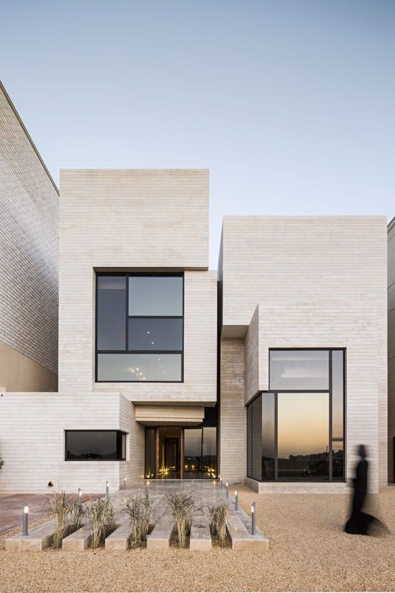 Street House designed by Massive Order in the city of Kuwait | features an internal street/courtyard