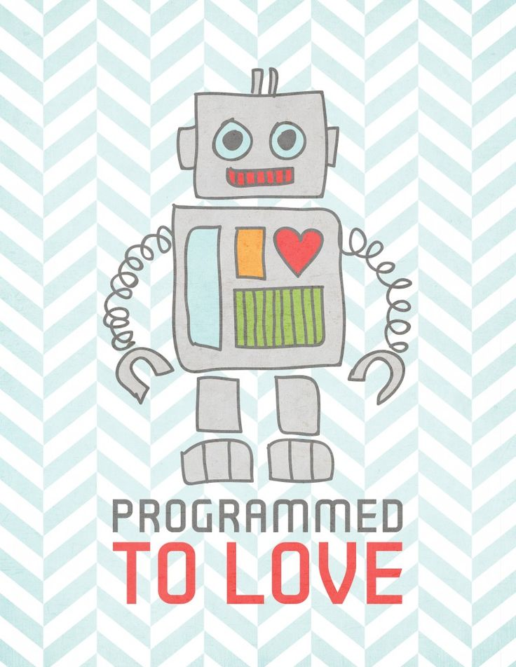 Free ROBOT Printable from Prairie Sweet Boutique!  {for a limited time only}