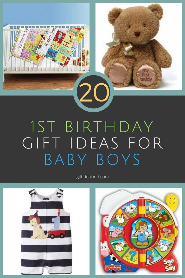 20 great gift ideas for a baby boys 1st birthday 1st